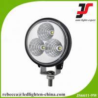 China Auto Accesories Offroad Round LED Work Lamp 9W Automotive LED Work Light on sale
