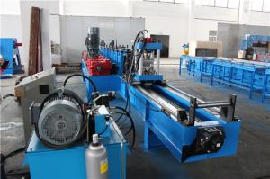 China High Speed Roof Angle Roll Forming Machine With Double Head Decoiler on sale