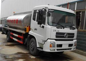 China Dongfeng 4X2 8 ~ 10 Ton Asphalt Patch Truck With Asphalt Pump ISO 14001 Approved on sale