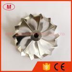 GTB2260V 784369-0002 44.52/60.01mm 7+7blades high performance turbo billet/milling/aluminum2618 compressor wheel