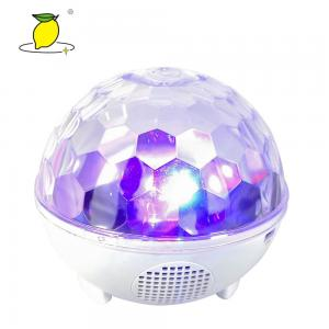 China Party Stage Effect LED RGB Wireless Bluetooth Speaker Mirror Disco Ball Light on sale