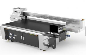 China High Efficiency UV Flatbed Inkjet Printer , Flat Glass Printing Machine on sale
