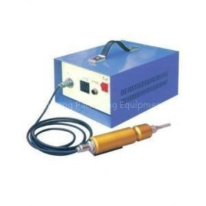 China Friction Electric Ultrasonic Metal Welding Machine / Ultrasonic Plastic Welder on sale