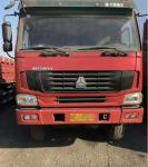 Howo 8x4   Used Dump Truck 12 wheel second hand tipper trucks 30-40  tons With Nice Looking  No Damage