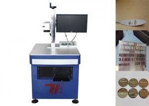 Quality 集積回路のための繊維レーザーの印の機械/金属の印機械 for sale