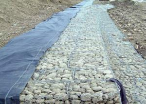 China Galvanized Wire Gabion Basket Protection Engineering Stone Cages on sale