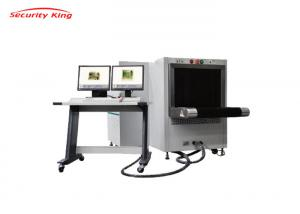 China Double perspective X Ray Baggage Scanner 6550D X Ray security inspection machine 65*50cm on sale