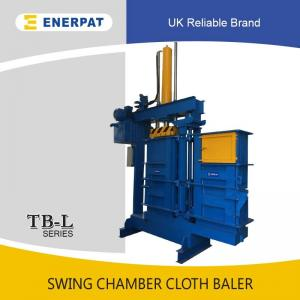 China Used clothing/clothes baling machine with CE approved on sale