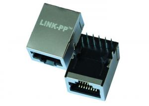 China ARJ11A-MASF-LT2 Switch Modem 10 Base-T RJ45 Modular Jack with Magnetic on sale
