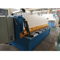CNC Hydraulic Sheet Metal Shear For Iron Carbon Sheet / Stainless Steel