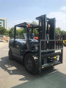 China 3 Stage Mast Forklift / Warehouse Lifting Equipment 500mm Load Center on sale
