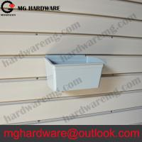 China Plastic Slatwall Storage Box  for Screws used on Garage Storage System on sale