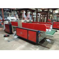 China DFR-600 Full automatic plastic shopping bag making machine, t-shirt bag making machine on sale