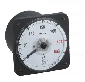 China Round Panel Mount Ammeter, Analog Current Panel MeterMoving Coil Structure on sale