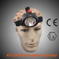 Portable LED Mining Lamp 4000lm SABS , 90 Degree Coal Miners Headlamp KL2.5LM