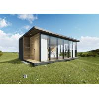 China Moonbox Modern Prefab Houses Holiday Style With Wood Panel Interior on sale