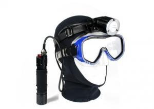 China Waterproof Aluminum Dive Led Headlamp Flashlight Torch, Canister Diving Headlight on sale