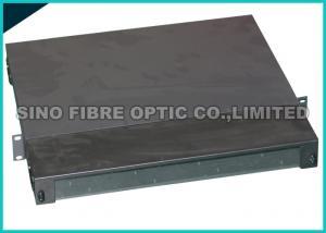 China MPO / MTP 1U Fiber Patch Panel , 144 Multimode Fiber LC Connector OM3 on sale