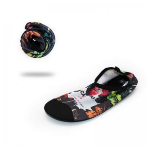 Quality Eco - Friendly Ladies Water Shoes Womens Aqua Socks Heat Transfer Printing for sale