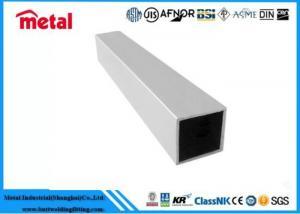 China Liquid Containers Aluminium Alloy Tube , Ceiling Black Anodized Aluminum Tubing on sale