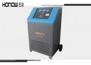 China Heavy Duty Automotive AC Recovery Machine AC 220V With Condenser And Cooling Fan on sale