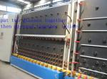 Efficient double-layer glass processing machine cleaning and drying machine production line
