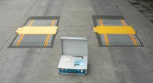 China Portable Axle Scale,Truck Scale,Wireless Weigh Pad,10t,20t ,30t on sale