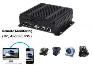 China 4 Cameras Video Recorder Car Camera DVR For Vehicle Support Long Time Recording on sale