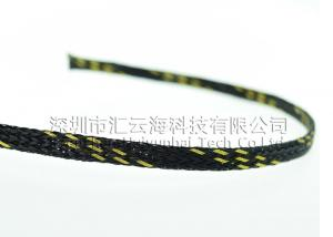 China Wear Resistant High Temp Braided Sleeving , Industrial Colored Braided Sleeving on sale