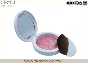 China Powder Form Pink Face Makeup Blush For Fair Skin Customized Size on sale