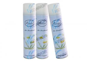 China Tork Premium Air Freshener Aerosol / Citrus Odor Eliminator Car Air Freshener supplier