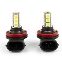2 X H11 13LED 5050 SMD Lamps & Bulbs 12V Lamp Car Fog Light Bulbs New