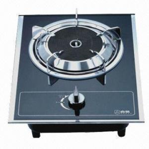 China Single-head Gas Stove with Auto Impulse Ignition, Measures 330 x 430mm on sale