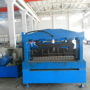 China 15m/Min Delta Plc Control Silo Roll Forming Machine on sale