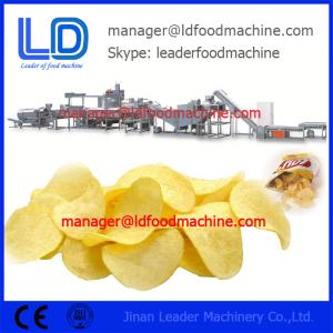 China Screw Self-cleaning Baking Automatic Fried Compound Potato Chips Processing Line on sale