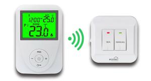China HVAC Controls Remote Room Thermostat 230V 6A for Home / Hotel on sale
