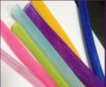 Non Flammable Flexo Pet Expandable Braided Cable Sleeving Wear Resistant Wire Harness