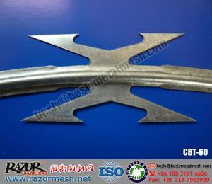China Alambre de púas de la maquinilla de afeitar CBT-60 on sale