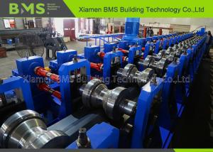China High Speed Highway Guardrail Roll Forming Machine With PLC Control System on sale
