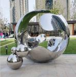 Customized Outdoor Metal Sculpture , Garden Contemporary Outdoor Sculpture