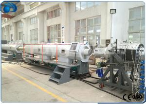 China Drip Irrigation Pipe Making Machine , Large Diameter UPVC PVC Pipe Production Line on sale