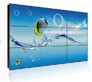 China High Brightness 55 Inch Video Wall Tv Screens , Shopping Mall Thin Bezel Tv For Video Wall on sale