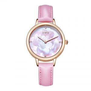 China Genuine Leather Strap Alloy Quartz Watch Waterproof For Couples And Lovers on sale