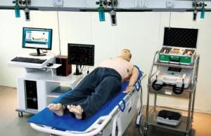 China OEM Adult CPR Manikin / Advanced PVC Full - body Emergency Simulation on sale