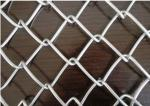 Electro - Galvanized Chain Link Fence Stainless Steel Twisted Barb Edge 5x5cm