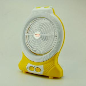China 3.7V 24 Leds Personal Mini LED Rechargeable Fan With Table Lamp on sale