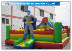 China Superman Inflatable Jumping Bouncer Castle Sports Inflatable Bouncy Castle Combo on sale