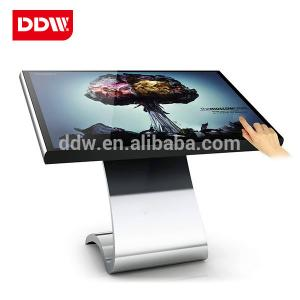 China Android OS Touch Screen Digital Signage monitor totem display spcc frame base on sale