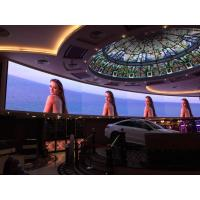 Audio Visual P3 Curved LED Video Wall , Front Service Big LED Screen for Casino