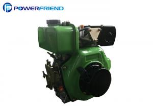 China 10HP 1 Cylinder 4 Stroke 3000rpm High Performance Diesel Engines Electric Hand Start on sale